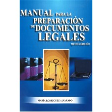 MANUAL PARA LA PREPARACION DE DOC LEGAL