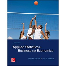 APPLIED STATISTICS IN BUSINESS AND ECON